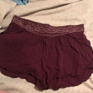 Urban outfitters purple flow shorts